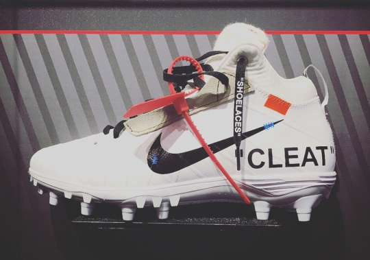 Here's What OFF WHITE x Nike Cleats Might've Looked Like