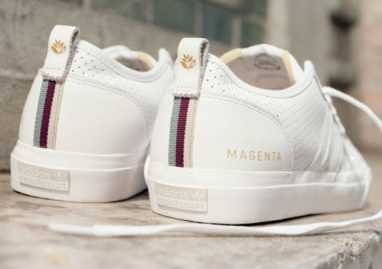 adidas Skateboarding Teams Up With Parisian Skate Brand Magenta For A Clean MatchCourt