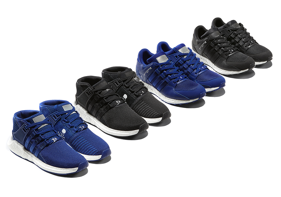 free shipping 5254e 82652 Mastermind Japan unveils their latest collection with adidas Originals,  featuring an all-new mid-top version of the EQT Support 93-17 Boost as well  as a ...