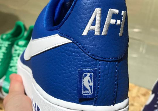 Nike To Add NBA Logos On The Air Force 1