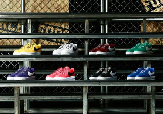 """Nike Air Force 1 Low """"Statement Game"""" Pack Features NBA Logos"""