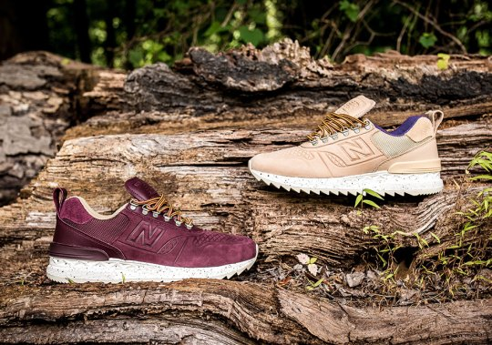 New Balance Adds Fall Tones To The Trailbuster AT Pack