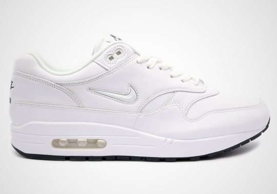 Nike Introduces White Jewel Swooshes On The Air Max 1