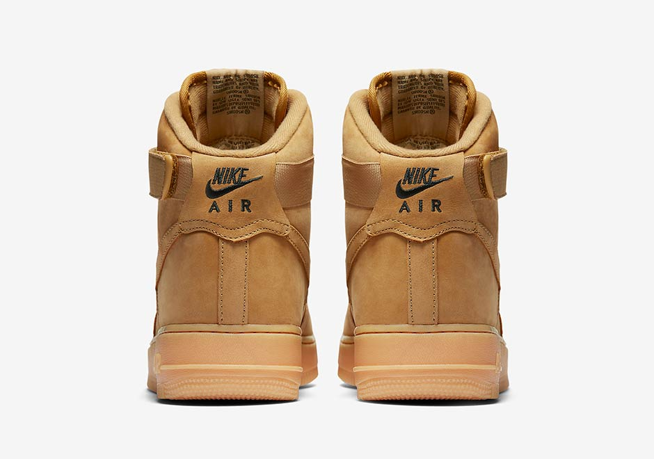 2017 Nike Air Force 1 High Flax (Wheat)