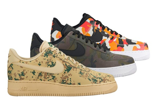 Camo Prints Return To The Nike Air Force 1 Low