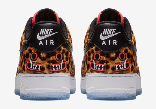 "Nike Air Force 1 Low ""Los Primeros"" Features Cheetah Print Uppers"