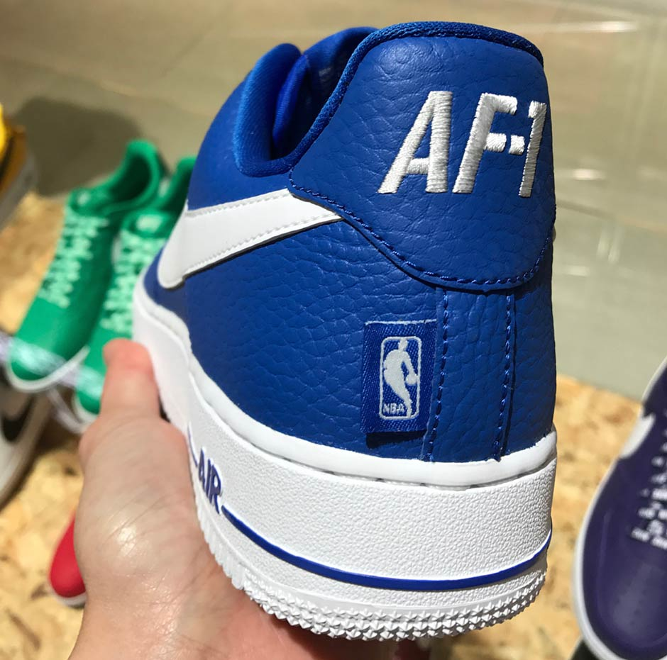 (more of a bellied Swoosh seen on select Blazers) and the heel reads AF, 1 in larger type. A release is expected to come later this year or early  2018.