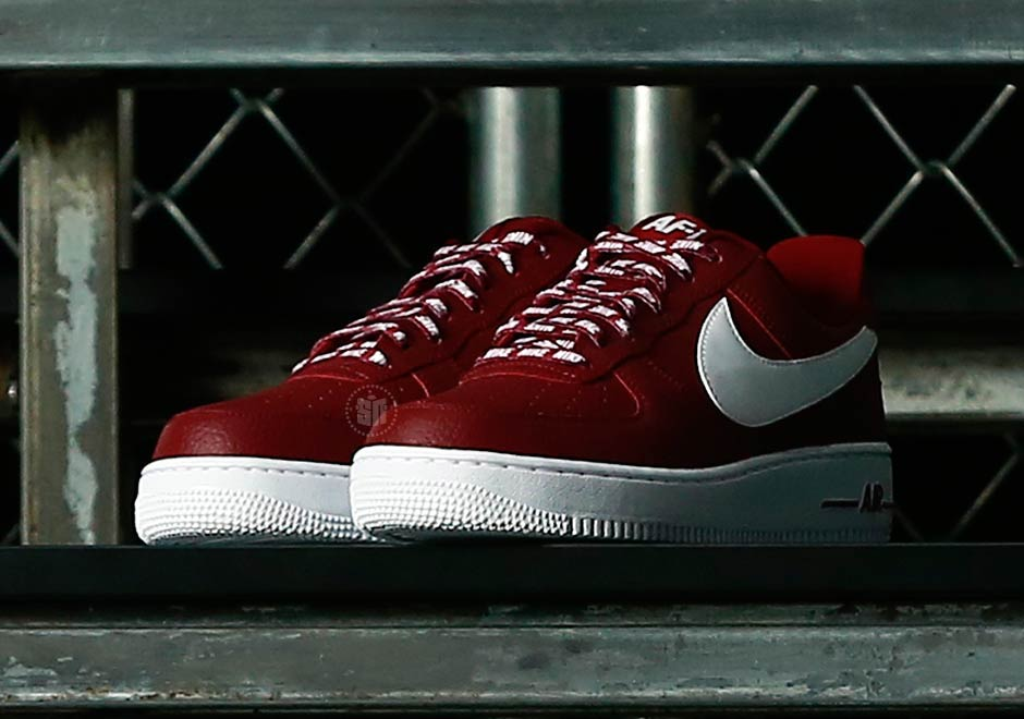 air force 1 nba red