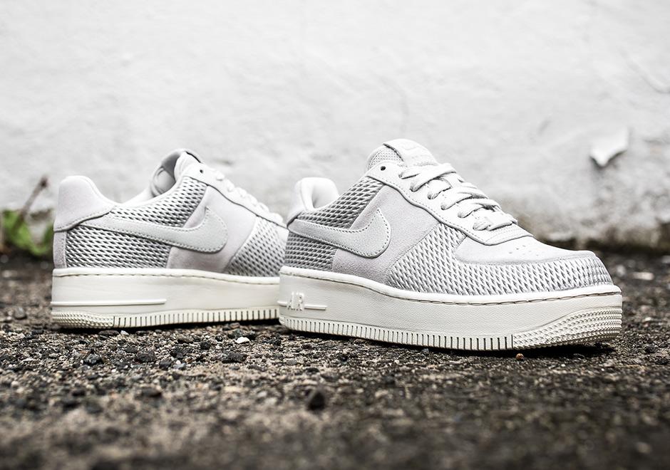 Nike Air Force 1 Uptstep Metallic Mesh Sneakernews Com