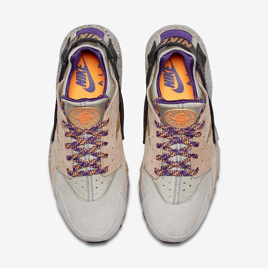separation shoes 95953 9fc6f Nike Air Huarache  110. Color  Linen Golden Beige-Black-Court Purple Style  Code  704830-200. Advertisement. Nike Air Huarache