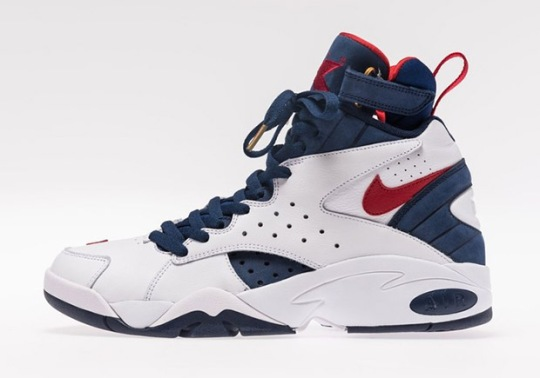 """Upcoming """"USA"""" Colorway Of Ronnie Fieg's Nike Air Maestro Collab Is For Friends & Family"""