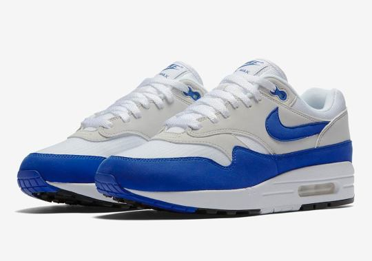 """The Nike Air Max 1 Anniversary """"Royal"""" Is Restocking In October"""