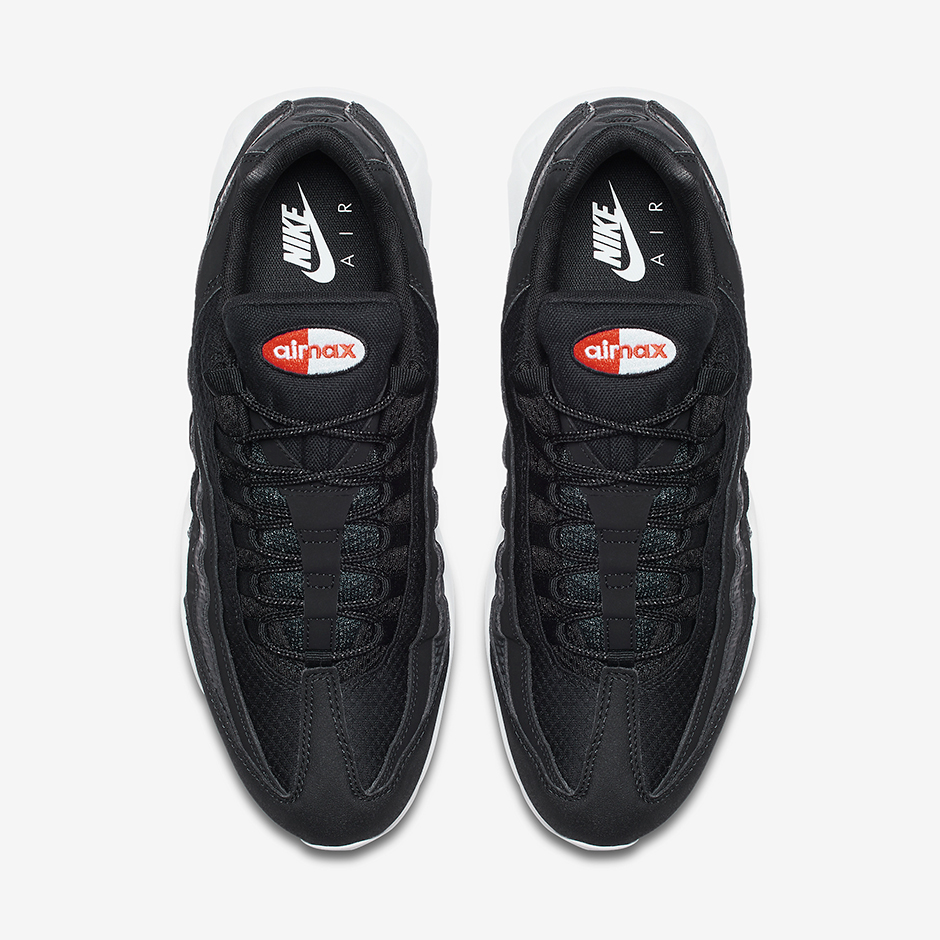 low priced 1b3e6 52188 NIke Air Max 95 Premium Black White 924478-001 | SneakerNews.com