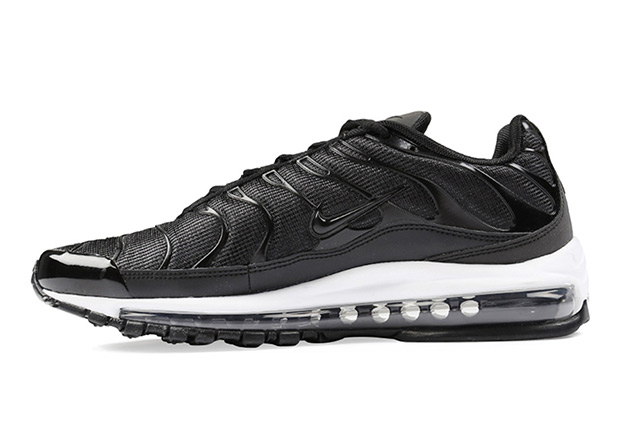 Nike Air Max 97 Plus Release Date: October 13th, 2017. Color:  Black/Black-White