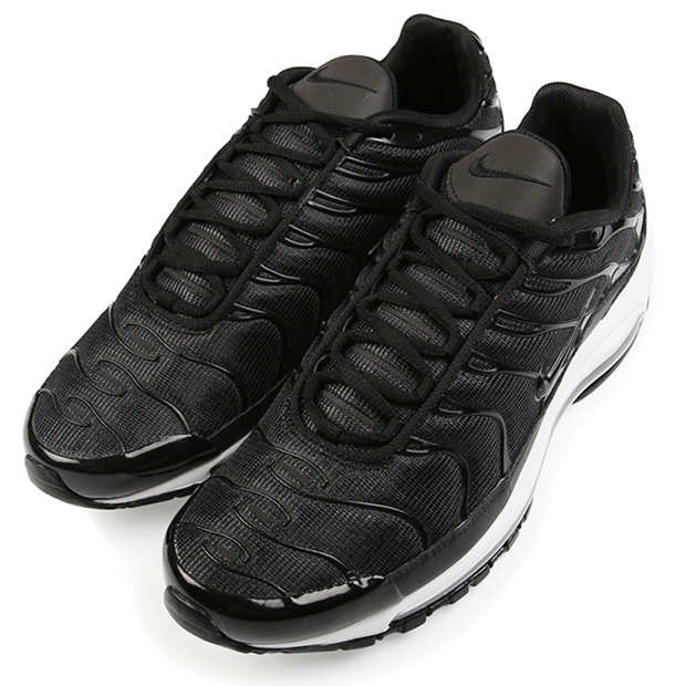 new style b33bf ae4be Nike Air Max 97 Plus Release Date  October 13th, 2017. Color  Black Black-White  Style Code  AH8144-001. Advertisement