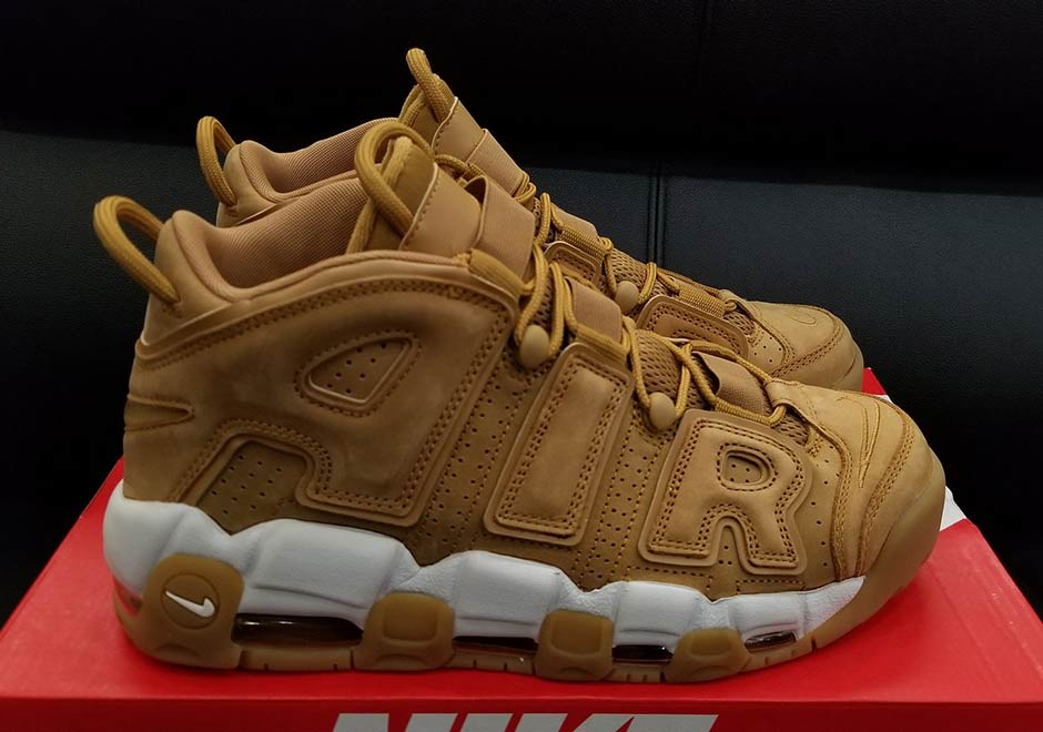 Nike Air More Uptempo Wheat Release Date | SneakerNews.com