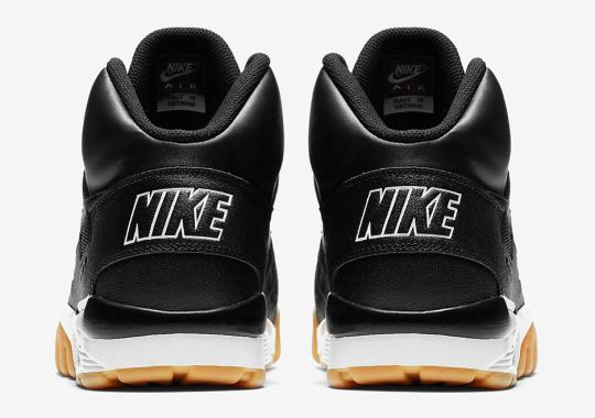Bo Jackson's Nike Air Trainer SC Winter Available In Black/Gum