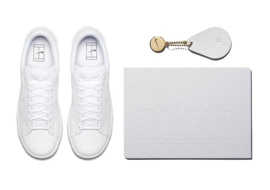 Nike Releases Its First FLYLEATHER Sneaker