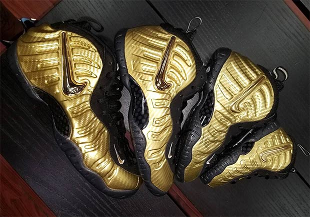 low priced ee698 8c294 Nike Air Foamposite Pro Gold Carbon Release Date ...