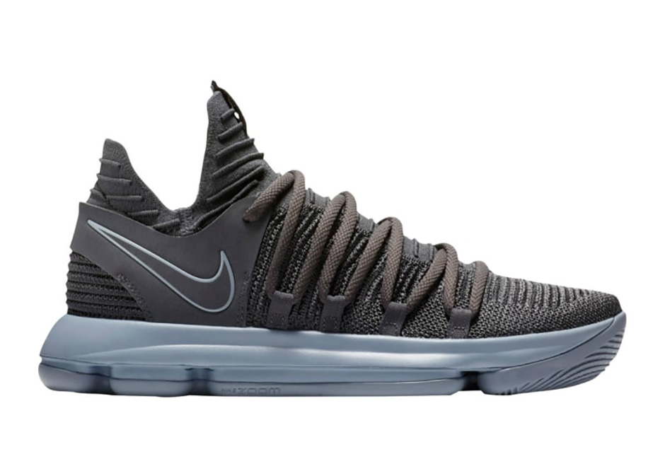 "official photos de7dc 2af1f The Nike KD 10 ""Dark Grey"" Releases In October"