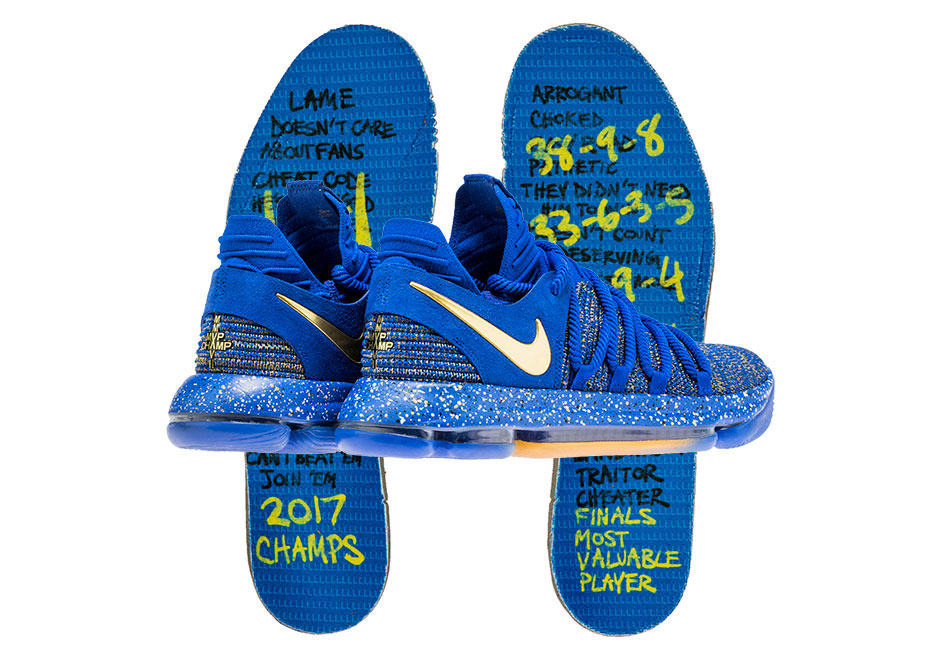 263ef8e843c3 Nike Responds To The KD Hate With Awesome Finals MVP-Inspired Shoe Release