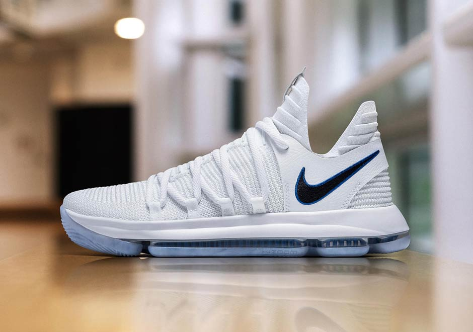 official photos 1ae9d 2e531 Nike KD 10 Numbers Warriors Logo Release Date   SneakerNews.com