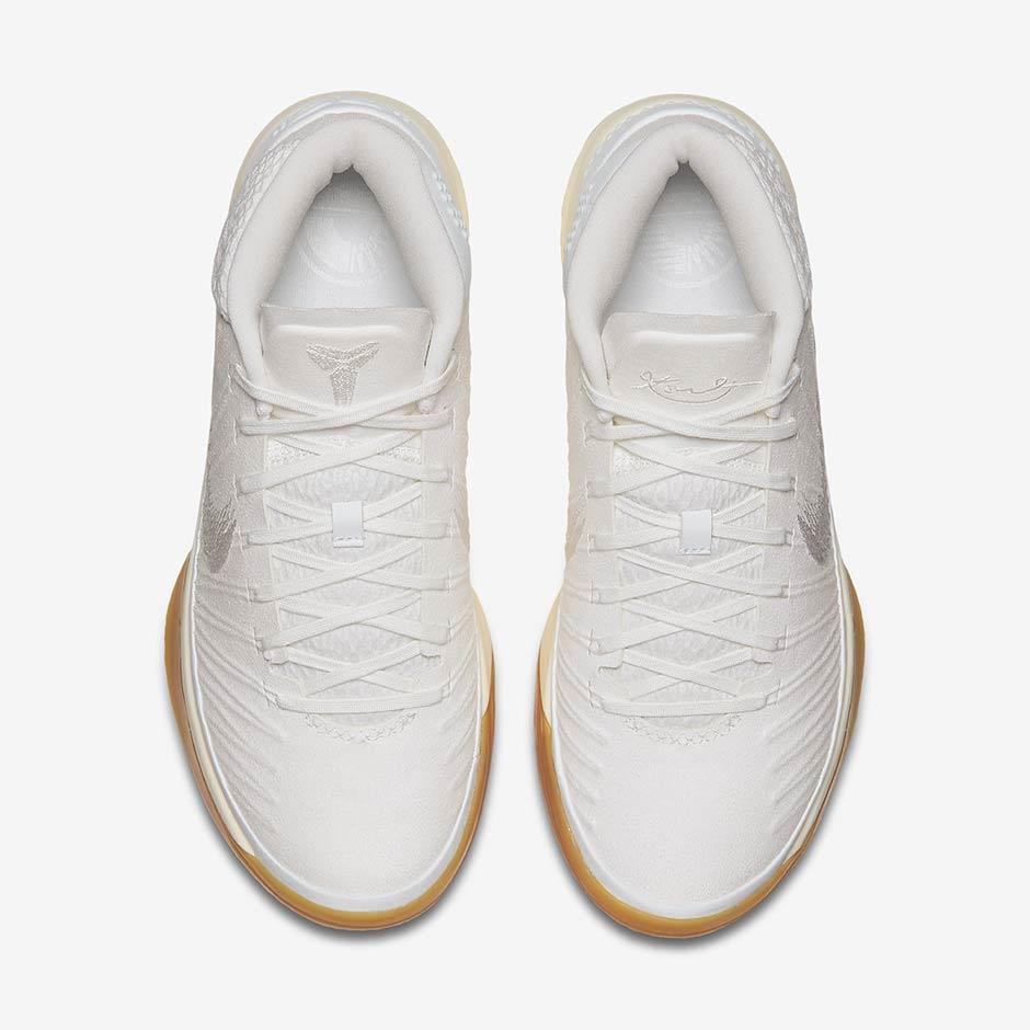 finest selection 1ff94 0dc5d Nike Kobe AD Mid Baseline White Gum 922482-101 | SneakerNews.com