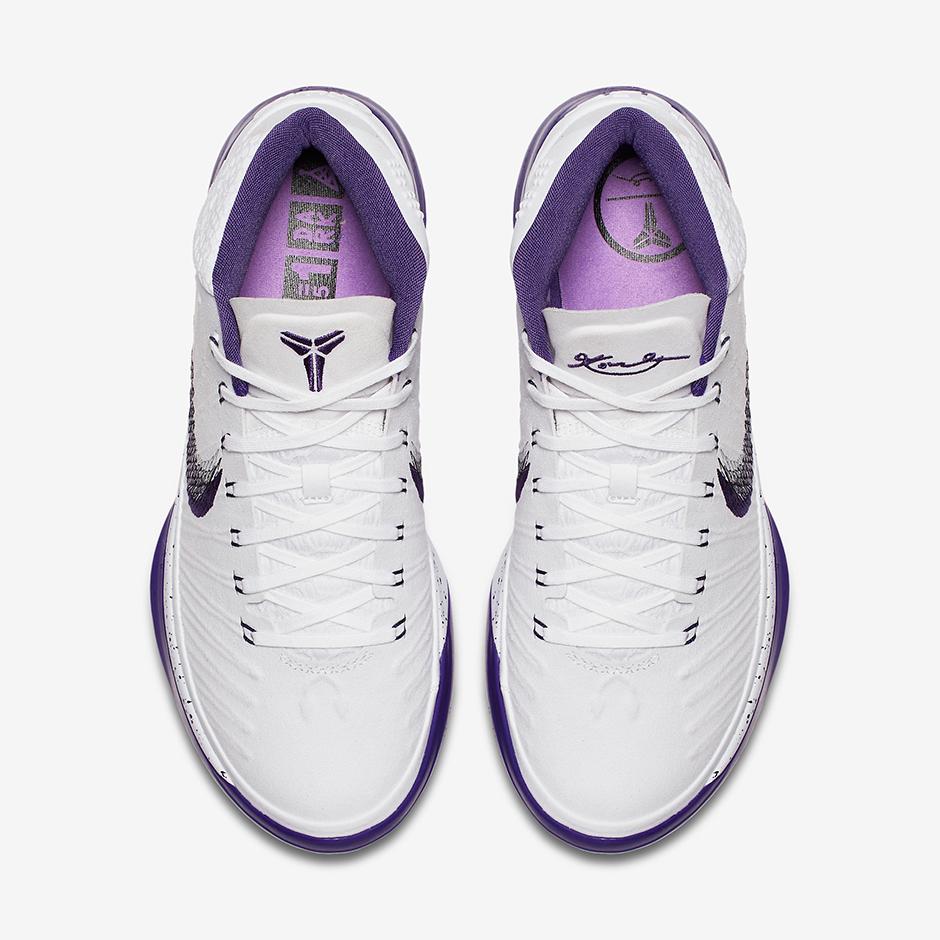 new product 2b641 890a6 Nike Kobe AD Baseline White Purple 922482-100 | SneakerNews.com