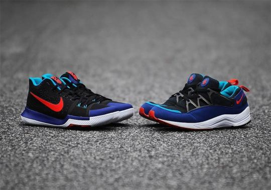 Side By Side Comparison Between The Nike Kyrache 3 And The Shoe That Inspired It