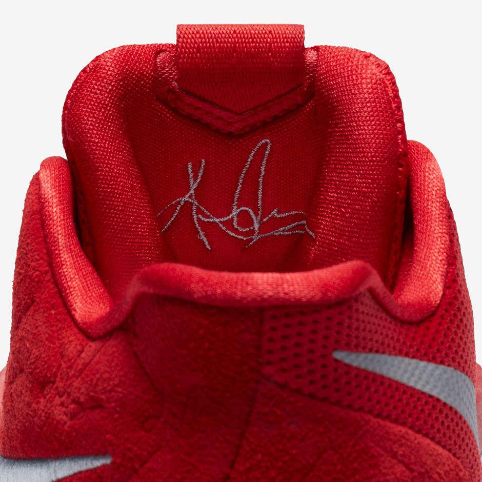 pretty nice b1590 eea07 Nike Kyrie 3 Red Suede 852395-601   SneakerNews.com