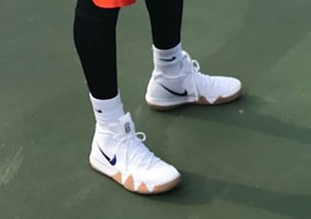 Did Kyrie Irving Debut The Nike Kyrie 4 On Uncle Drew Film Set?
