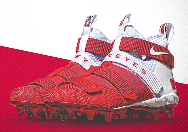 The Ohio State Buckeyes Will Wear Custom Nike LeBron Cleats This Saturday
