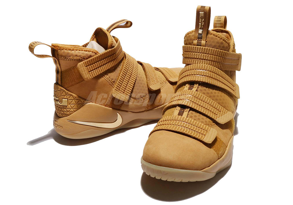"Nike LeBron Soldier 11 ""Wheat"" Release Date  October 7th 8f661a3a9"