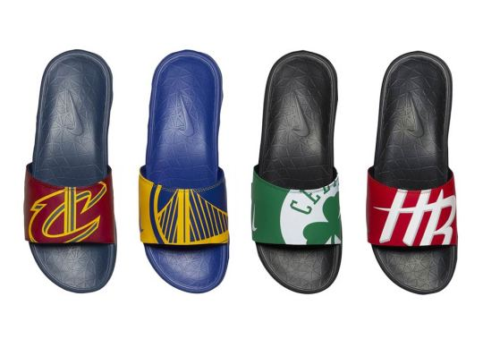 Nike And The NBA Are Releasing Team Slides