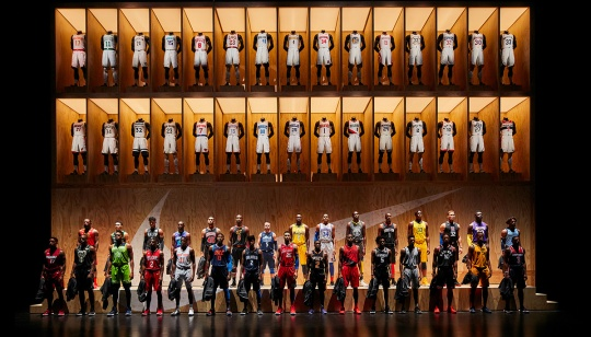 Nike and The NBA Unveil The Statement Edition Uniform