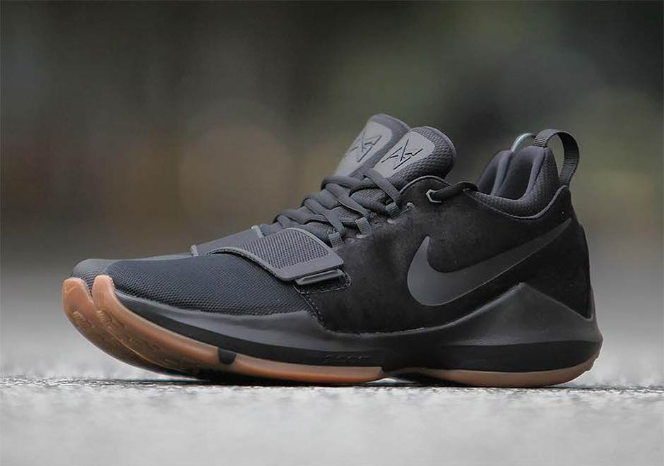 timeless design 47383 94c89 Paul George s Nike PG 1 Releasing In Black Gum