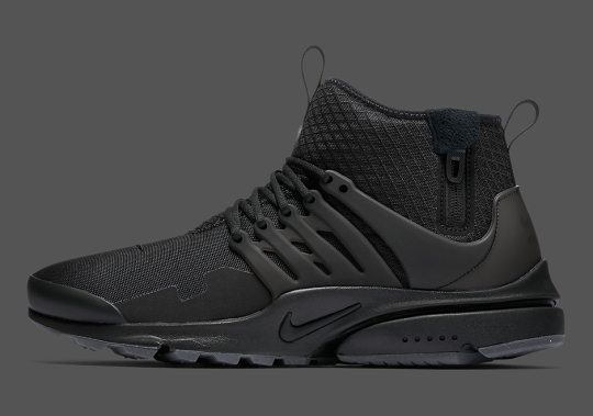 """Another """"Triple Black"""" Nike Presto Mid Utility Is Dropping Soon"""