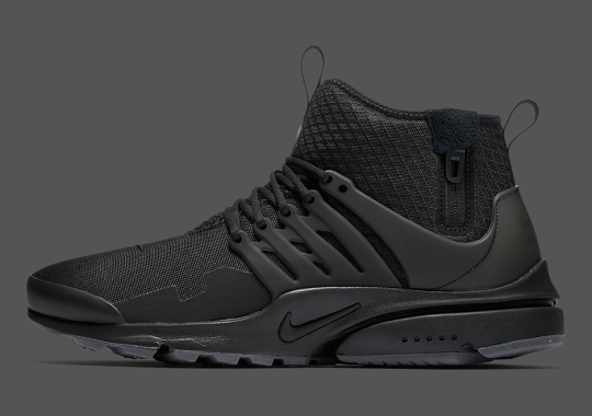 "Another ""Triple Black"" Nike Presto Mid Utility Is Dropping Soon"