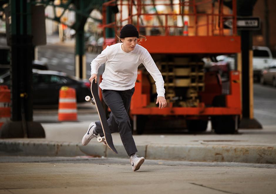 45c3ff42e70d Nike SB Bruin High First Women s Skate Shoe
