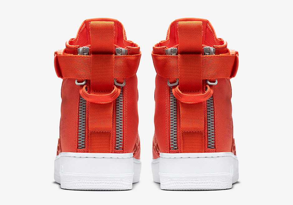 53b16c5bdfd Nike SF-AF1 Mid Team Orange 917753-800