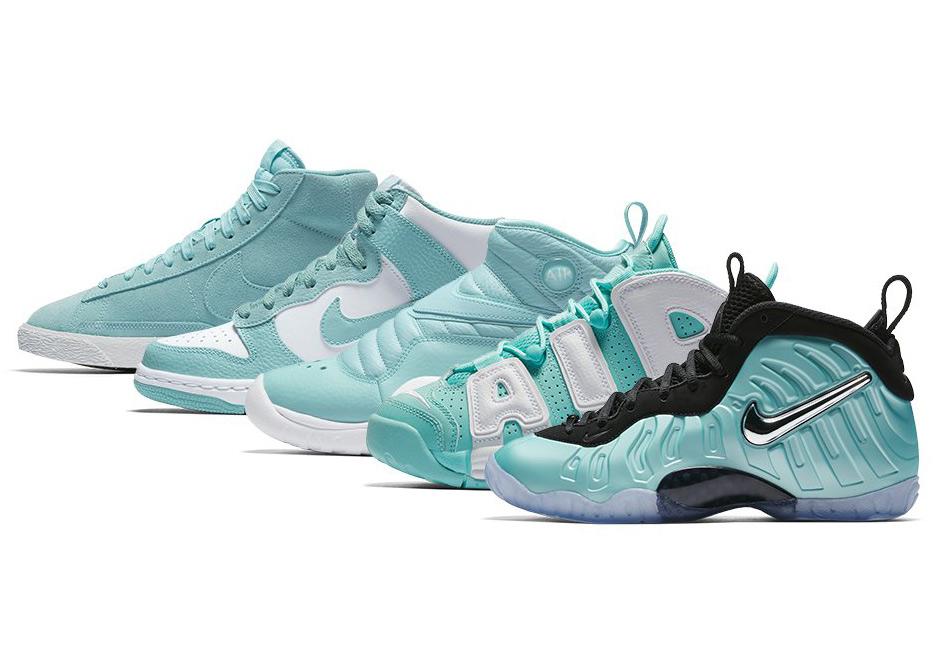"Nike Sportswear Releases The ""Island Green"" Pack For Kids"