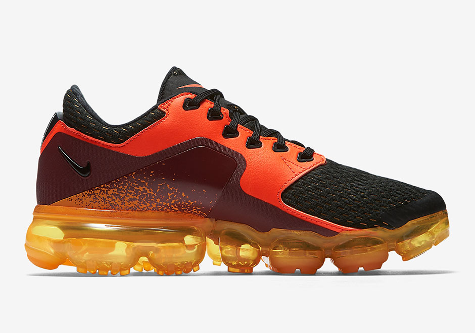 c8be543326 Nike Vapormax CS 917963-800 Black Red Orange | SneakerNews.com