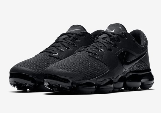 "This Is The Next ""Triple Black"" Nike Vapormax Shoe"
