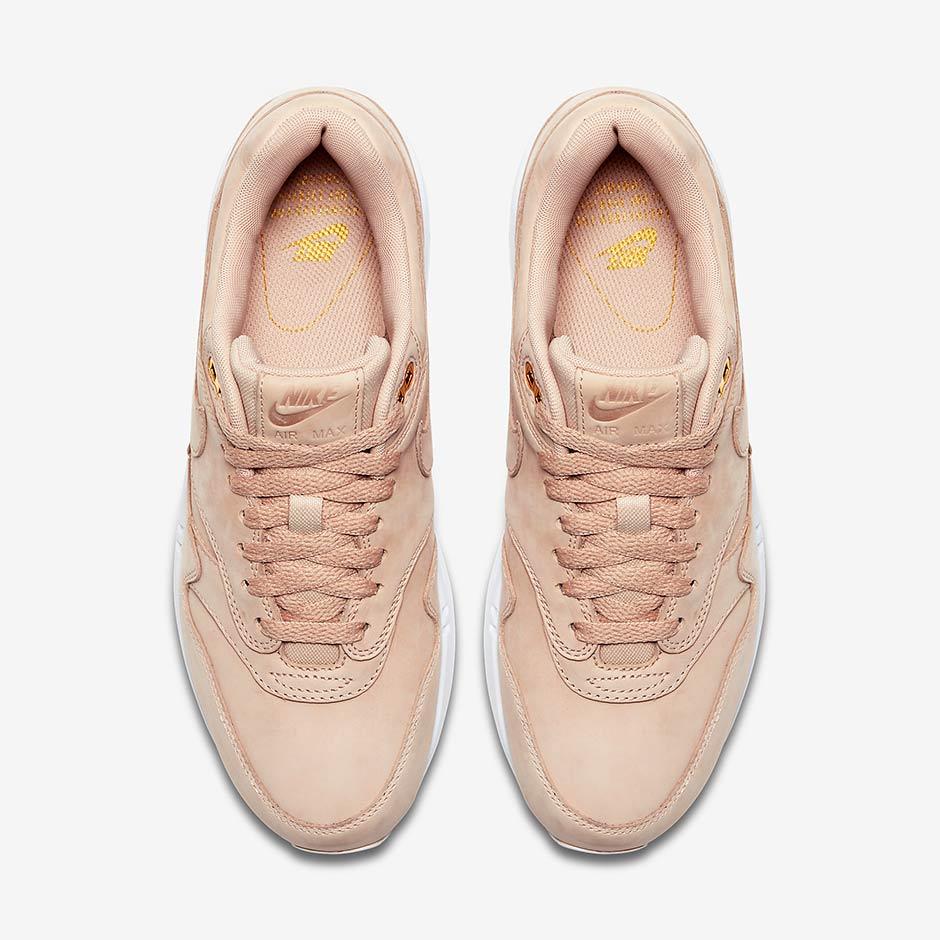sports shoes 46af7 cf85d Nike WMNS Air Max 1. Color  Bio Beige Bio Beige-White Style Code  454746-207.  Advertisement