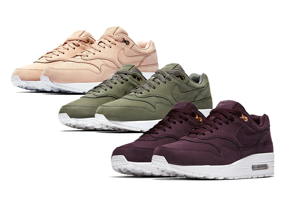 online store a497f dfb3c Nike Air Max 1 WMNS Premium Nubuck Beige 454746-207   SneakerNews.com