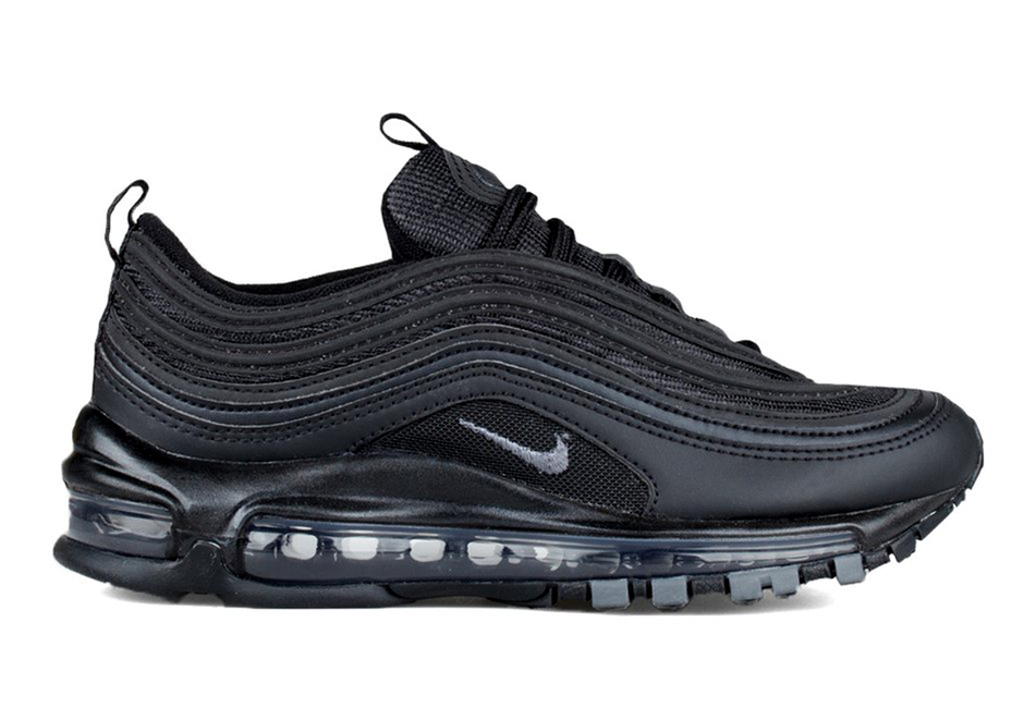 "beb2d7211c570f ""Triple Black"" hits the Nike Air Max 97 for its big comeback year for this  women s edition on sale now. Arriving at select Nike Sportswear and  disappearing ..."