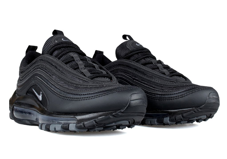 "Nike Air Max 97 ""Triple Black"" 921733 001 For Sale"