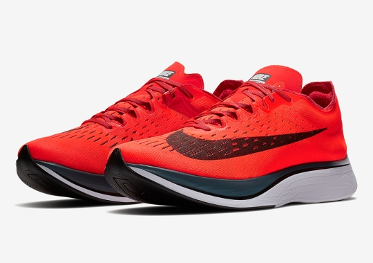 The Nike Zoom VaporFly 4% Is Releasing In Bright Crimson