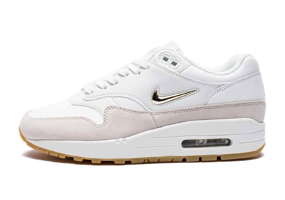 the best attitude f34f0 36728 If your girl is always complaining you don t get her any diamonds and  jewels, maybe these new women s exclusive colorways of the Nike Air Max 1  Jewel will ...
