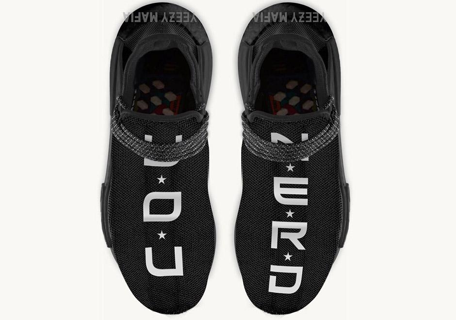 pharrell shoe line